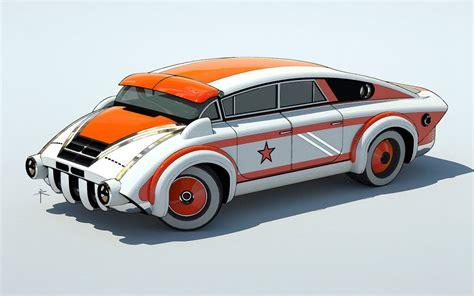 design car sylk s playground retro future car designs by 600v