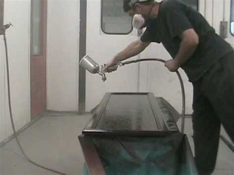 Spray Painting Cabinet Doors - how to spray paint kitchen cabinets youtube