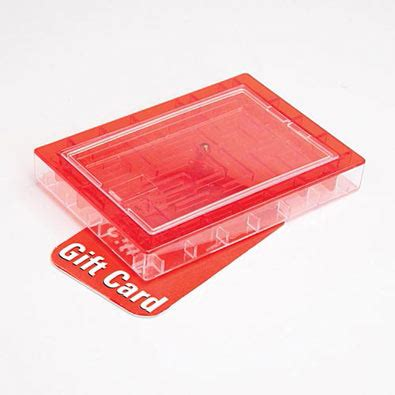 Maze Gift Card - banks money holders gift card maze red