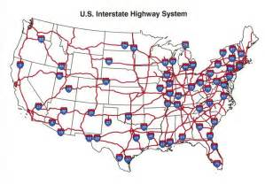 map united states highways u s interstate highway map see the usa in a different