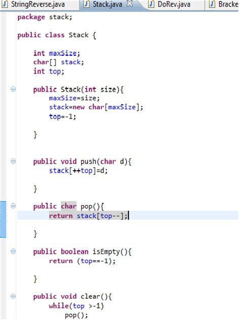 java program for reverse pattern how to program reverse in java buttonblogs