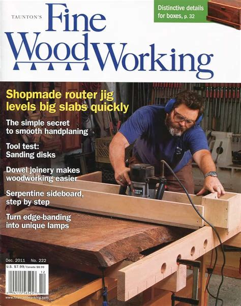 fine woodworking magazine article offerman woodshop
