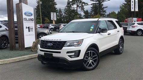2016 ford explorer lifted 2016 ford explorer sport foot activated lift gate review