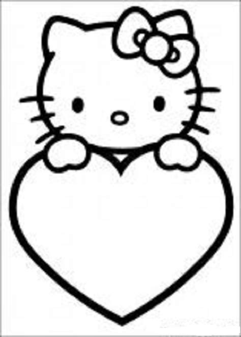 hello kitty coloring pages for valentines day hello kitty valentines coloring pages hello kitty forever