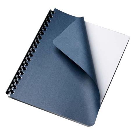 Gift Letter Binding Grain Navy Paper Letter Size Binding Cover 25 Pack