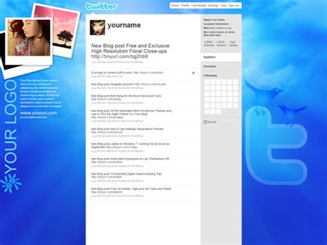 free twitter background templates in photoshop psd shades