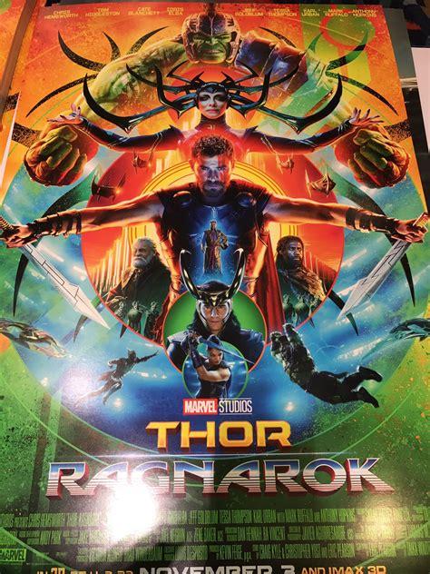 film marvel setelah thor ragnarok thor ragnarok poster sdcc 2017 larger https wx4