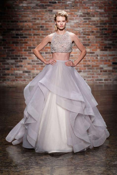 hayley paige bridal dresses wedding photos refinery29 13 spectacular new hayley paige wedding dresses onewed