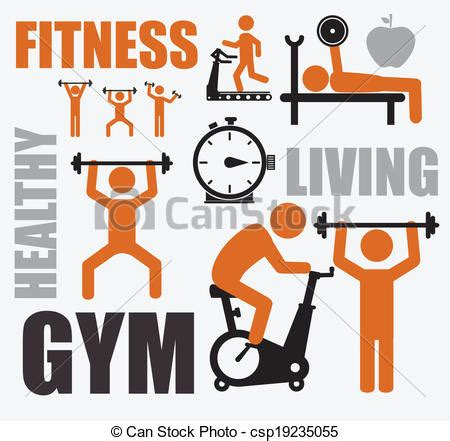 Fitness World Graphic 1 fitness clipart