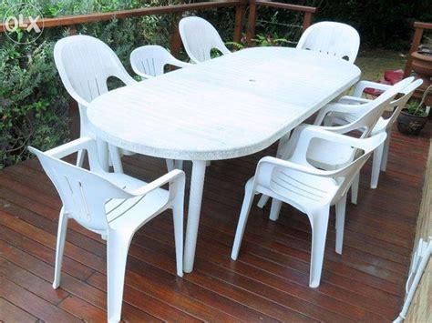 tavoli in plastica per esterno tavoli da giardino in plastica mobili da giardino