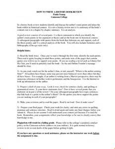 Introduction To A Book Report 8 College Book Report Template Expense Report