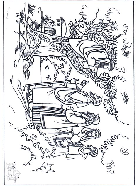 free coloring pages of zacchaeus and jesus
