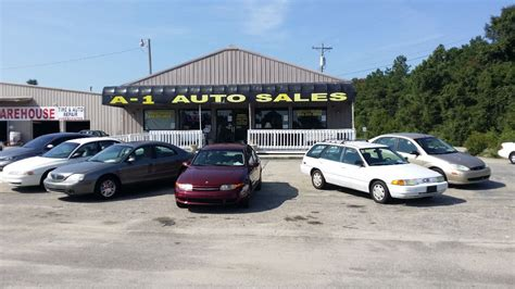 conway auto sales a 1 auto sales of south carolina used cars conway sc