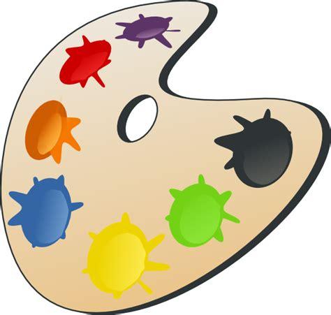 paint colors clipart color palette clip at clker vector clip