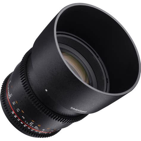 Samyang Lens 85mm T15 Vdslr Mk Ii For Sony Nex samyang 85mm t1 5 vdslr mk ii cine lens nikon shashinki