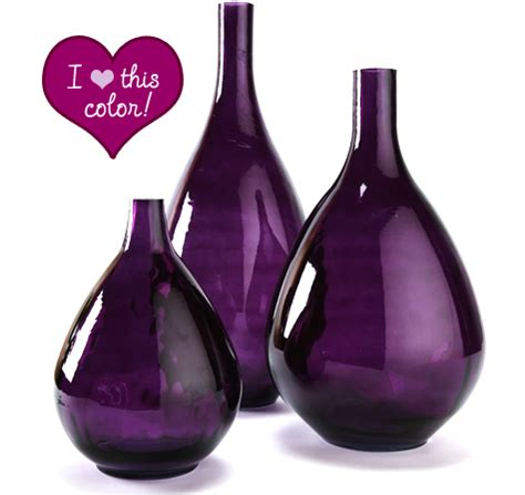 Purple Vases Cheap by Purple Glass Vase