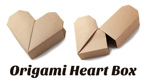 Tutorial Origami Heart Box | origami heart box instructions origami free engine image