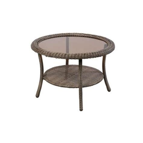 home depot outdoor coffee table hton bay grey patio coffee table 65