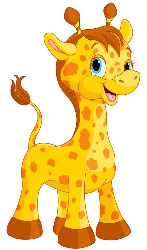 imagenes de jirafas animadas solo la cara cute giraffe cartoon png clipart image gallery