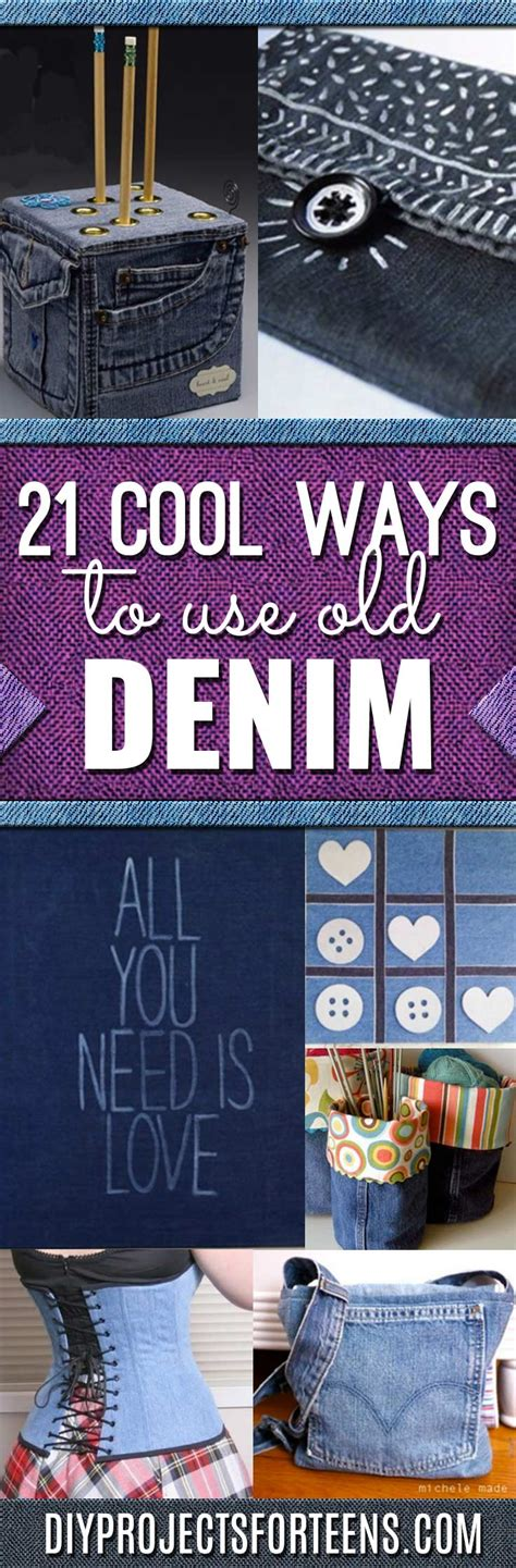 denim crafts projects 21 awesome ways to use denim diy projects for