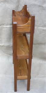 arts and crafts bookcase small arts and crafts bookcase in oak antiques atlas