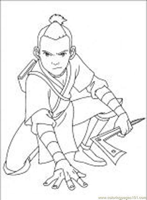 coloring pages avatar 48 m cartoons gt avatar the last