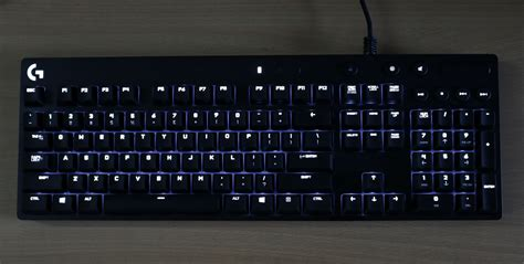 Keyboard G610 review logitech g610 blue gaming keyboard gaming central