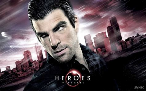 heroic voices of the heroes reborn cast and plot zachary quinto s sylar may guest star first trailer will be shown