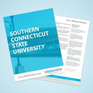Southern Connecticut State Mba Tuition by Chemical Management Hazcom For Education