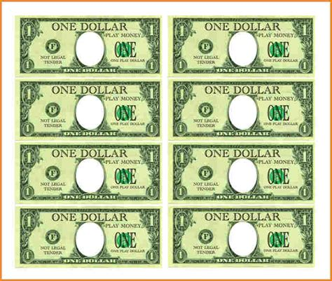 5 customizable fake money template wedding spreadsheet