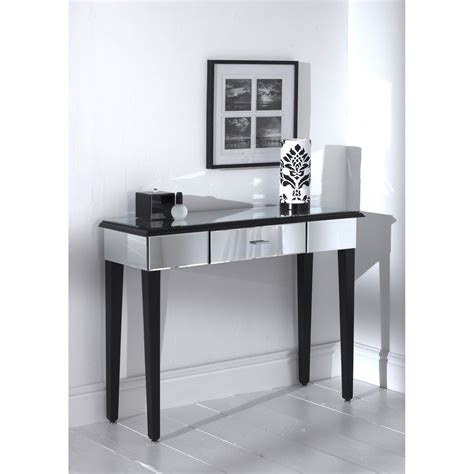 black mirrored console table console table design black mirrored console table clooset