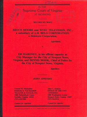 Frederick County Va Court Records Virginia Supreme Court Records Volume 258 Virginia