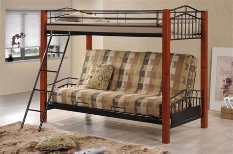 country bunk beds country futon bunk bed roof fence futons