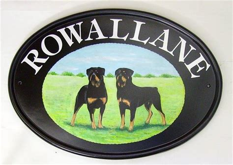 dog house sign hand painted house signs gallery