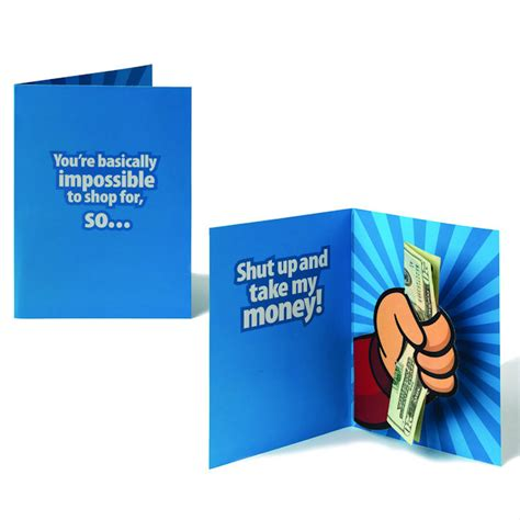 Shut Up And Take My Money Card Template by Shut Up And Take My Money Pop Up Card Vs