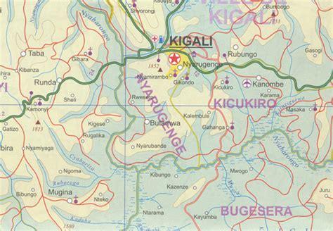 Map Voucher 300000 rwanda burundi map itmb maps books travel guides