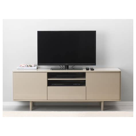 tv bench unit mostorp tv bench beige 159x46 cm ikea