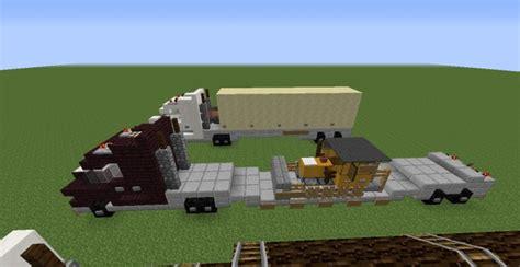 Handmade Minecraft - custom minecraft cargo trucks minecraft project
