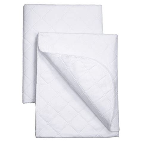 Crib Mattress Protector Pad Mattress Protector Waterproof Crib Pads Sheet Baby Bedding Fabric Comfort 2 Set Ebay