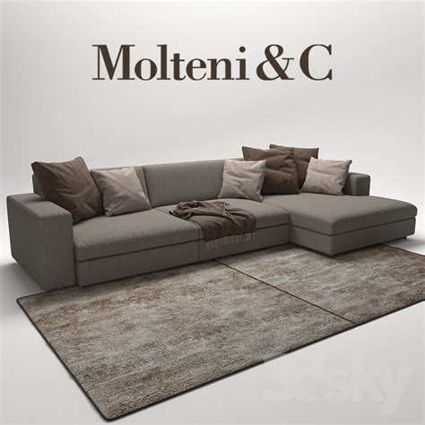 c couch 3d models sofa turner sofas molteni c