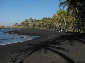 black sand island punalu u black sands beach hawaii top ten
