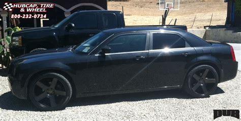 chrysler 300c black rims chrysler 300c dub baller s116 wheels black machined