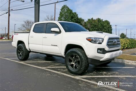 rims size toyota tacoma custom wheels fuel beast 18x et tire size