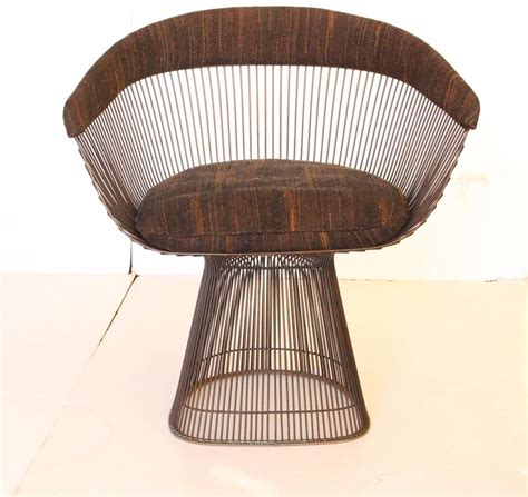 warren platner dining set of ten bronze warren platner dining chairs at 1stdibs