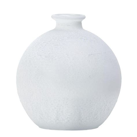 glass globe table small globe frosted glass vase table l white from