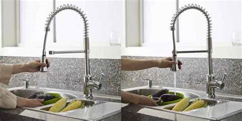 blanco meridian semi professional kitchen faucet wow