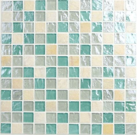 blue glass mosaic for swimming pool mosaic wall