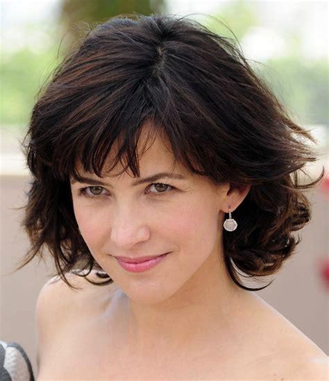 faca hair cut 40 layered short cut for women over 40 sophie marceau