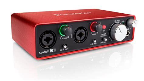 Focusrite 2i2 2nd Usb 2 0 Audio Interface 2 In 2 Out focusrite focusrite 2i2 2nd mfr used restock model 2 x 2 usb 2 0 audio interface