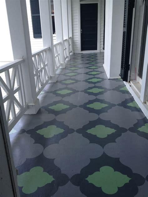Painted Porch Floor by Best 25 Painted Porch Floors Ideas On Painting Concrete Porch Exterior Concrete